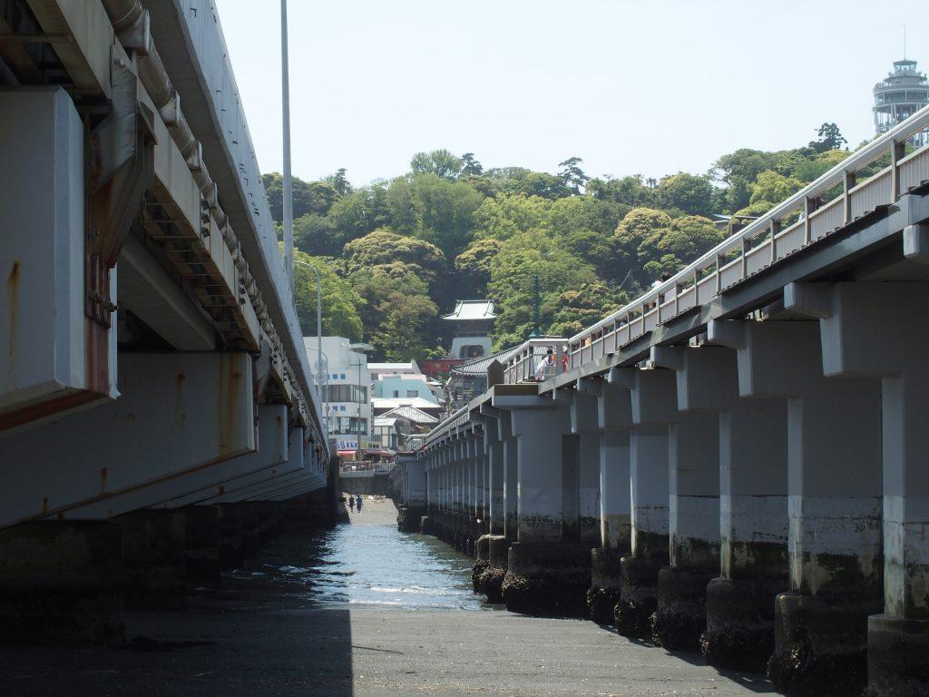 大橋と弁天橋の間