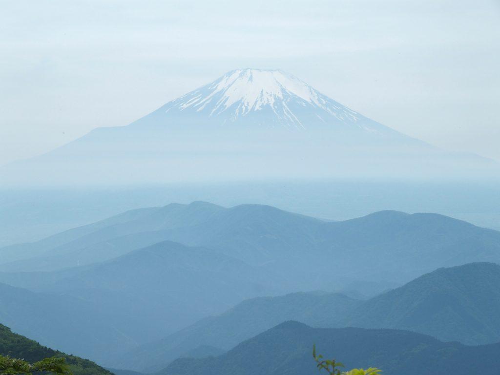 鍋割山からの富士山