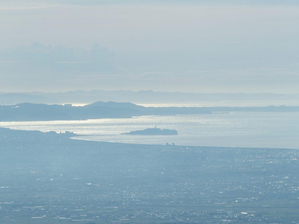 イタツミ尾根からの江の島