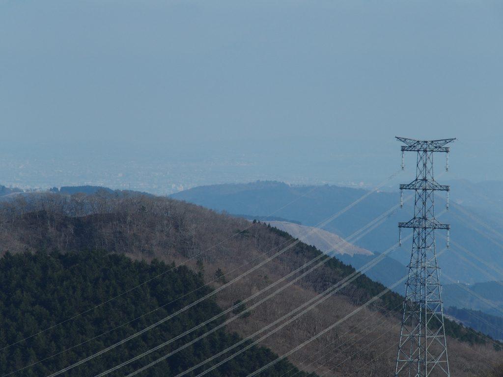 三国峠付近から江の島