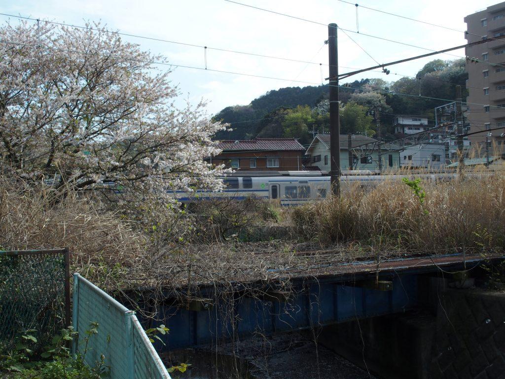 並行する横須賀線