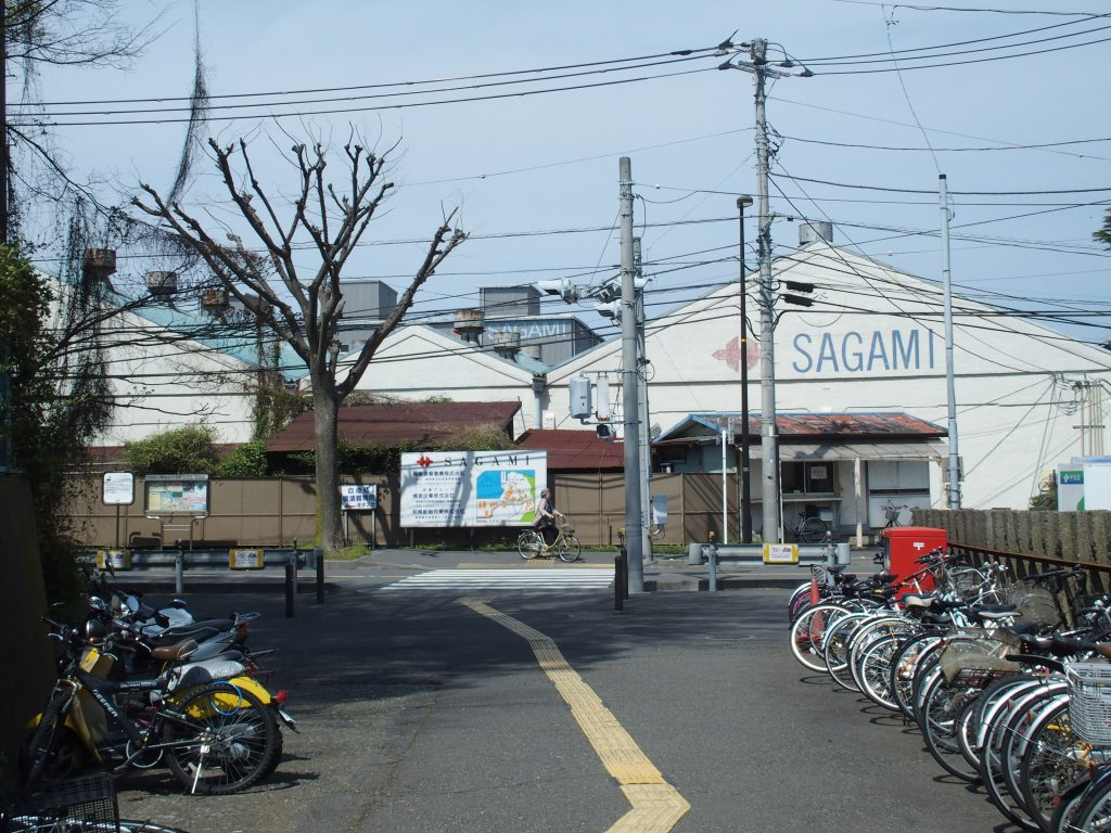 田浦駅、北口に