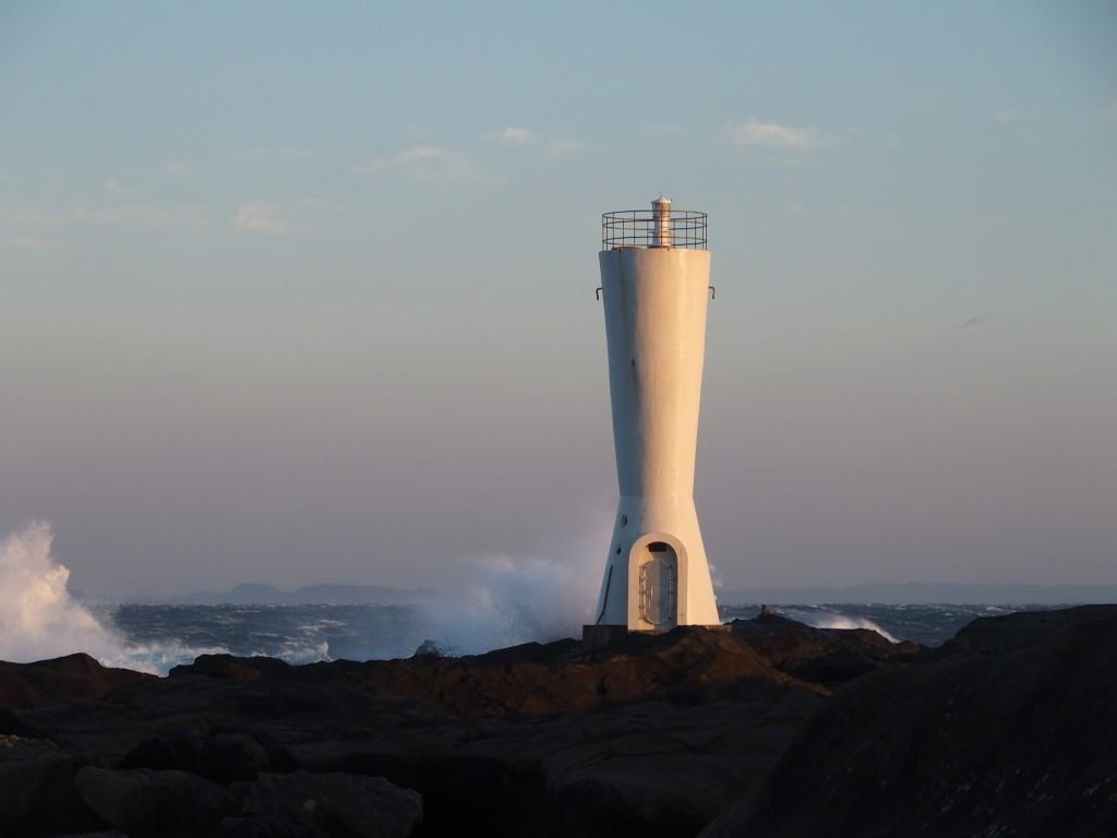 安房崎灯台12月