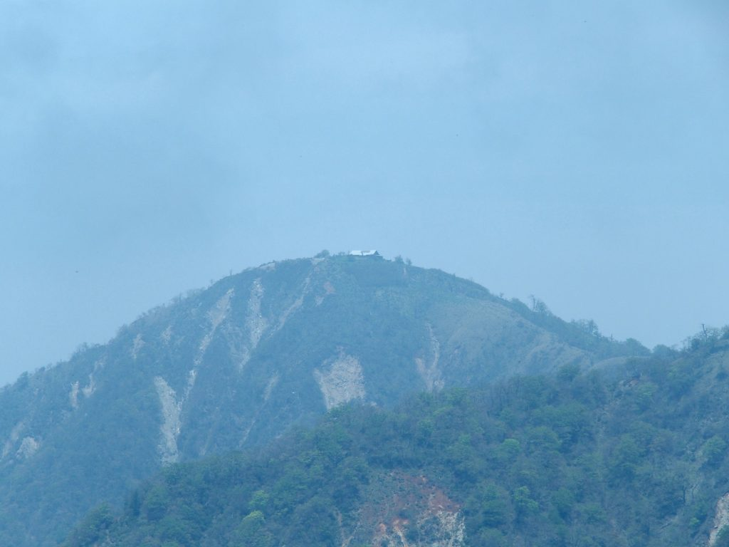 塔ノ岳からクローズアップ