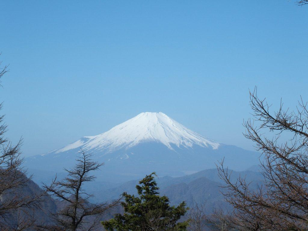 姫次からの富士山