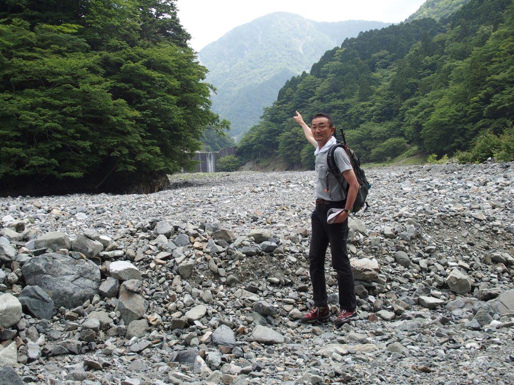 熊木沢出合から蛭ヶ岳