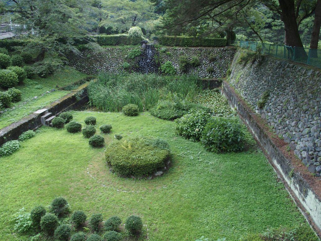 旧青山沈殿池