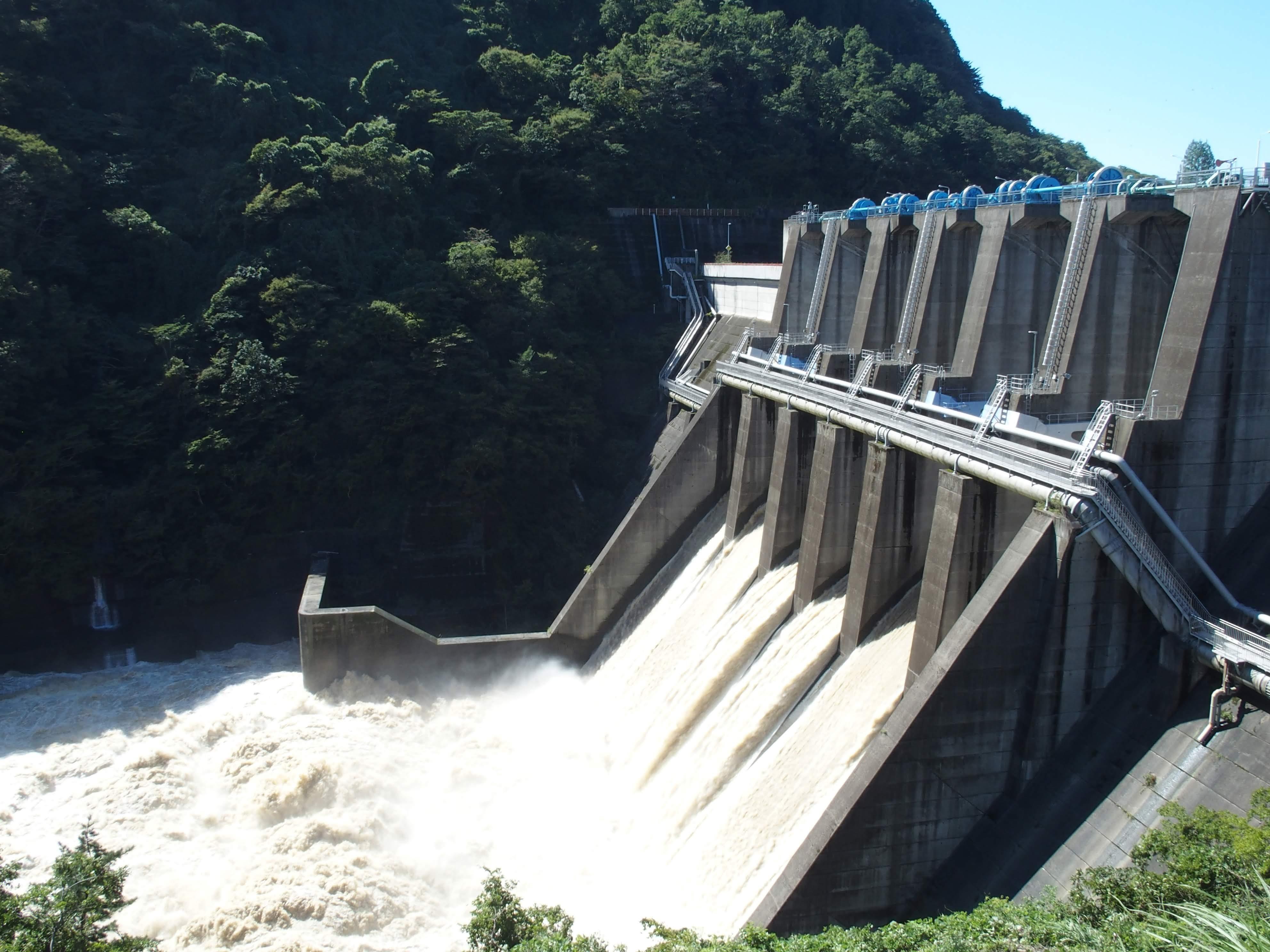 城山 ダム 水位