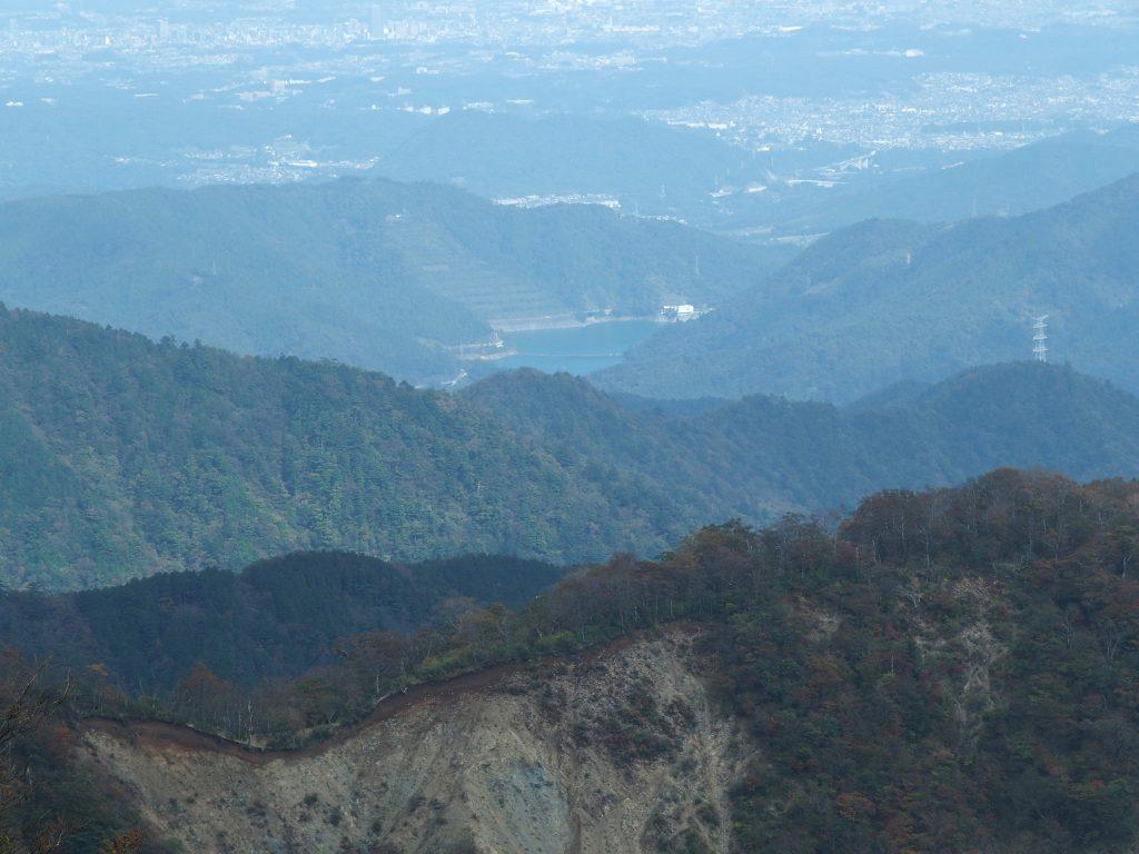 塔ノ岳からの俯瞰