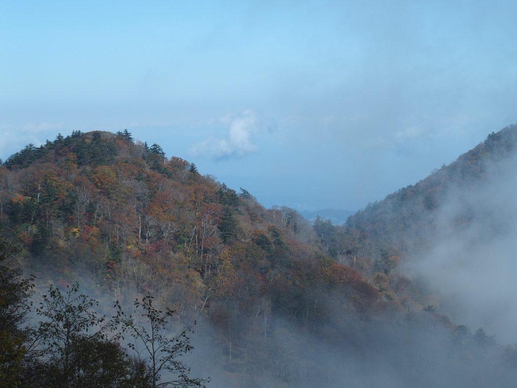 丹沢三峰側の景色