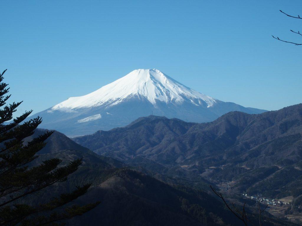 富士山と道志の森