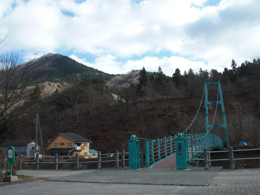 道の駅どうしの端にかかるかっぱ橋
