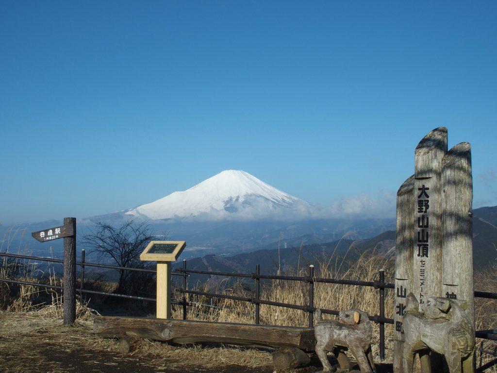 富士のすそ野の広がりがいい