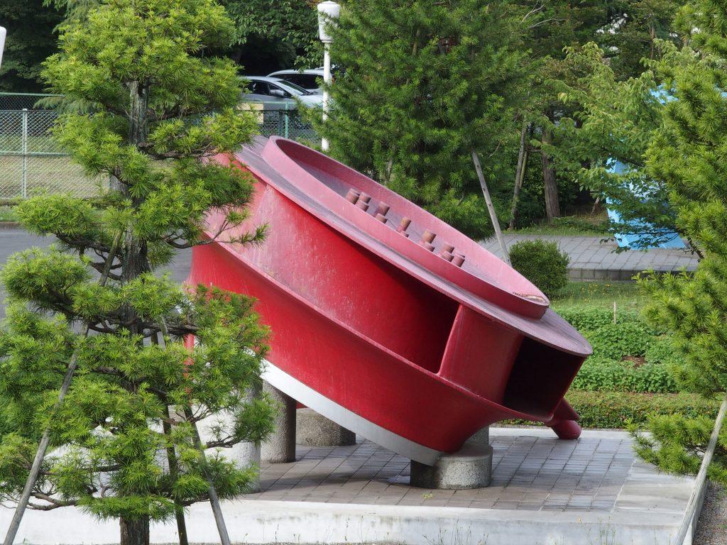 巨大なポンプ水車ランナ