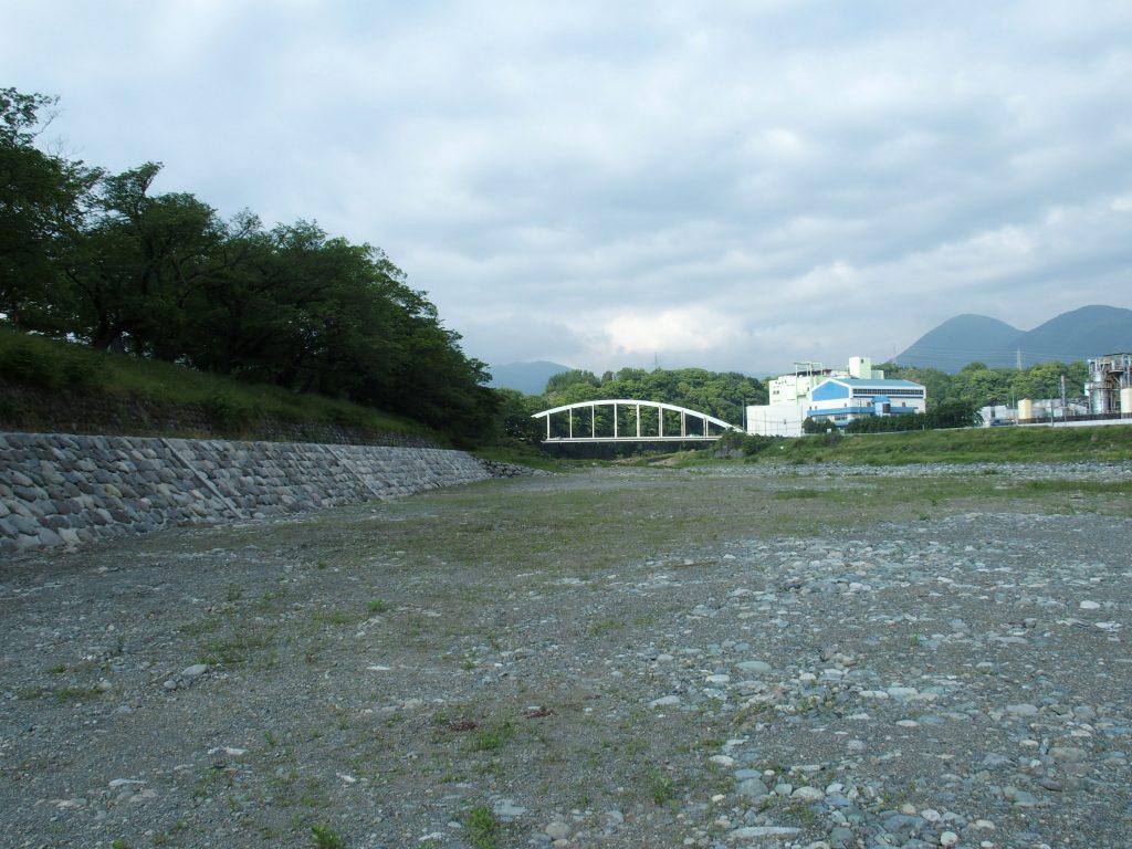 文命西堤から新大口橋