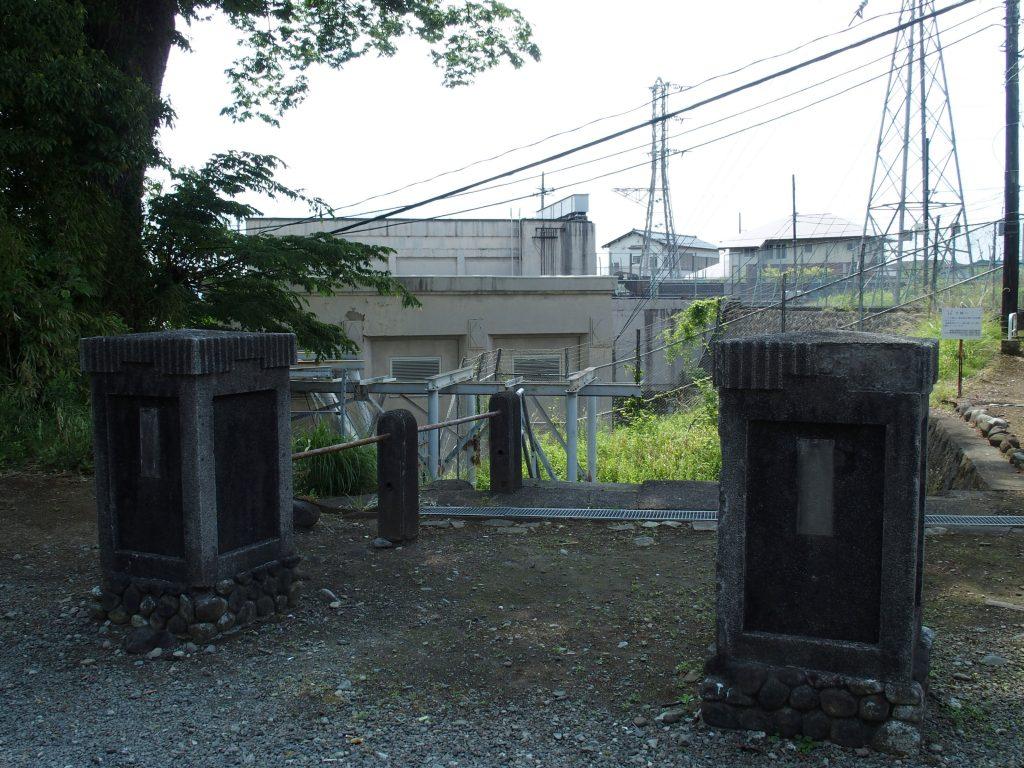 福沢第一発電所門柱