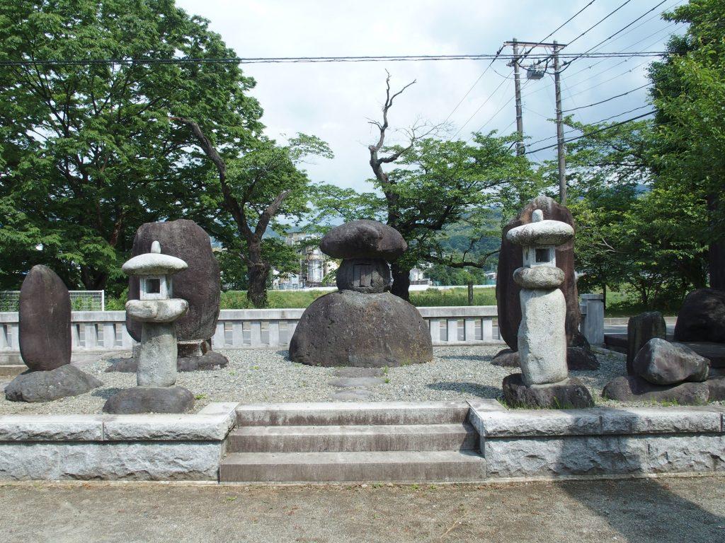 福澤神社境内