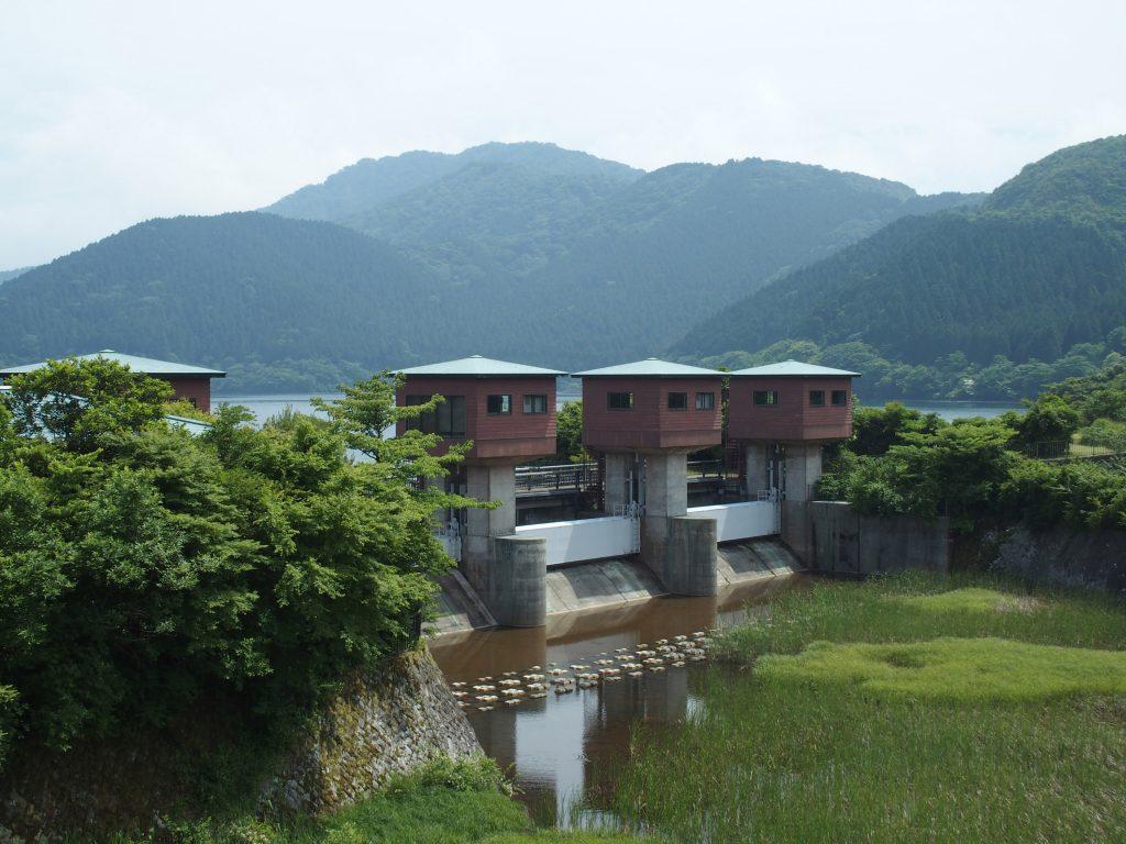 早川への流路