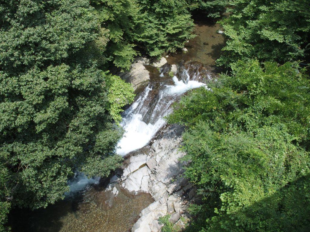 水沢川の小滝
