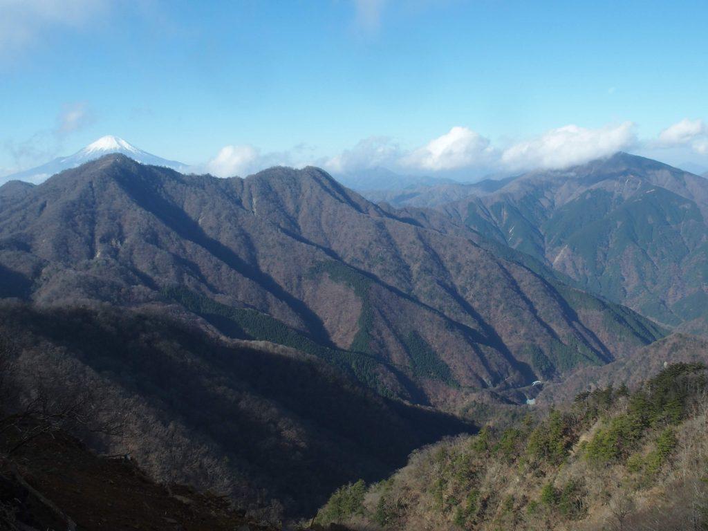 西丹沢の山々