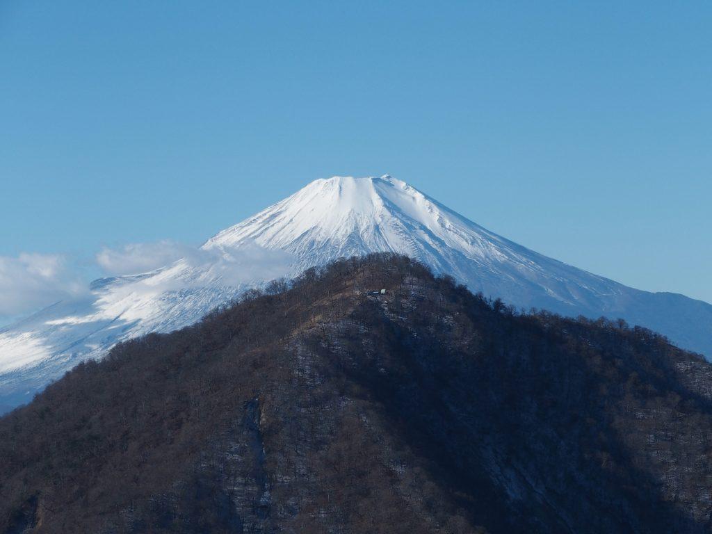 檜洞丸、そして富士