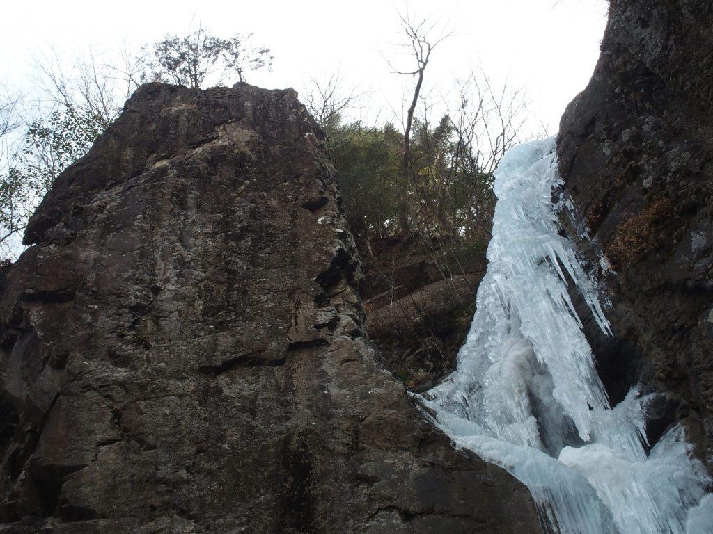 ときどき氷の塊が落下してくる