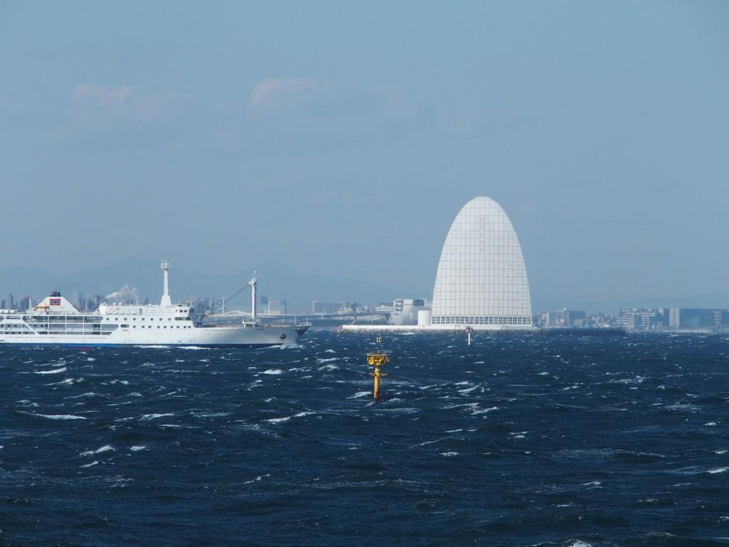 川崎人工島海上